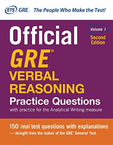 Official GRE Verbal Reasoning Practice Questions, Second: Service, Educational Testing