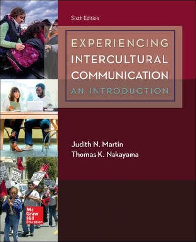 9781259870569: Experiencing Intercultural Communication: An Introduction