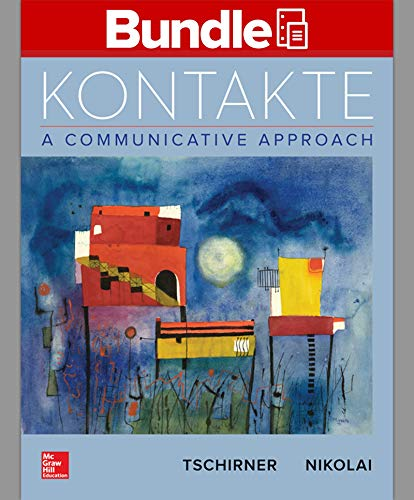 9781259874048: GEN COMBO LL KONTAKTE; WORKBOOK/LABORATORY MANUAL KONTAKTE