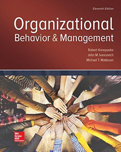 Organizational Behavior and Management (Irwin Management): Ivancevich, John M.,