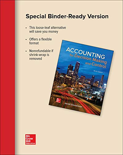 GEN COMBO LL ACCOUNTING DECISION MAKING &: Jerold Zimmerman