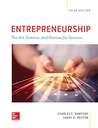 9781259912191: ENTREPRENEURSHIP: The Art, Science, and Process for Success