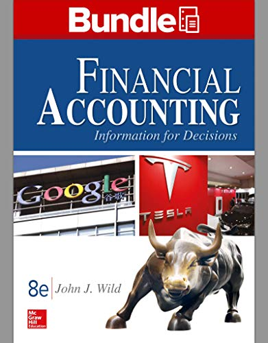 GEN COMBO LL FINANCIAL ACCOUNTING:INFORMATION FOR DECISIONS; CONNECT ACCESS CARD: John Wild