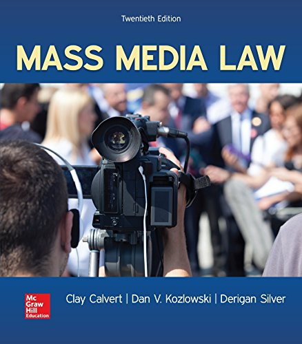 9781259913907: Mass Media Law