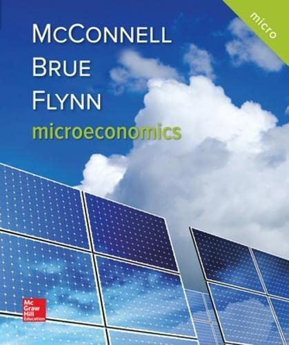 9781259915727: Microeconomics (Mcgraw-hill Series: Economics)
