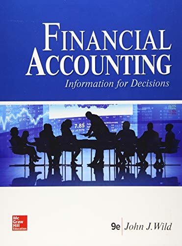 9781259917042: Financial Accounting: Information for Decisions