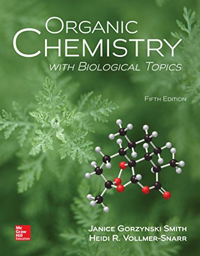 9781259920011: Organic Chemistry with Biological Topics