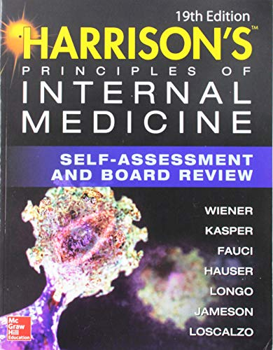 9781259921384: Harrisons Principles of Internal Medicine Self-Assessment and Board Review