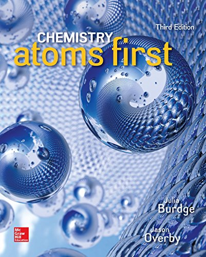 9781259923050: LAB MANUAL FOR CHEMISTRY: ATOMS FIRST