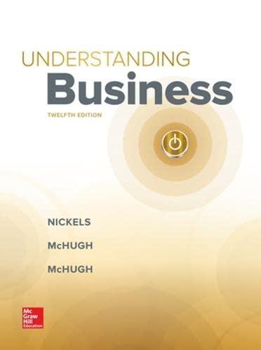 9781259929434: Understanding Business