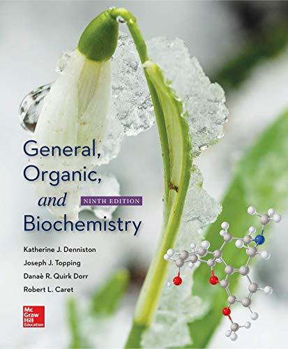 9781259970016: LooseLeaf for SSG/Solutions Manual for General, Organic & Biochemistry
