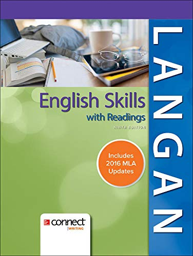 9781259988745: English Skills with Readings MLA 2016 Update