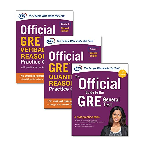 9781260010558: Official Gre Super Power Pack - General Test + Quantitative Reasoning Practice Questions, 2nd Ed. + Verbal Reasoning Practice Questions, 2nd Ed.: The ... Reasoning Practice Questions, Vol. 1