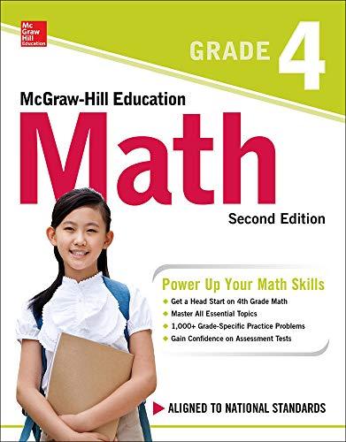 9781260019865: McGraw-Hill Education Math Grade 4, Second Edition