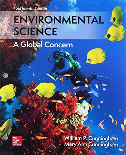 Gen Combo Environmental Science; Connect Access Card: Cunningham, Mary Ann;