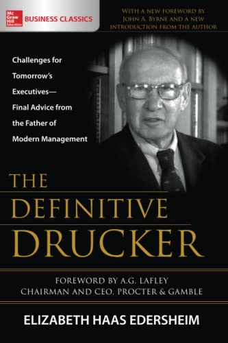 9781260026252: The Definitive Drucker: Challenges for Tomorrow's Executives―Final Advice from the Father of Modern Management