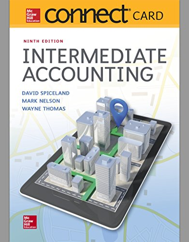 9781260029871: Connect Access Card for Intermediate Accounting