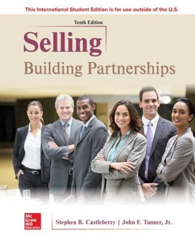 9781260084771: Selling: Building Partnerships