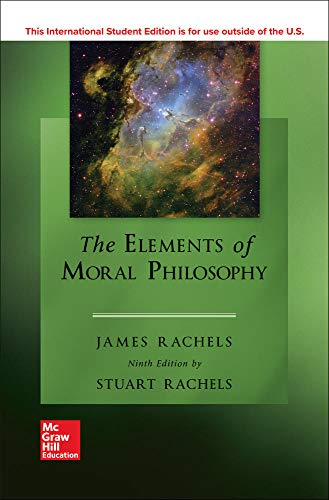 9781260091670: ISE The Elements of Moral Philosophy (ISE HED PHILOSOPHY & RELIGION)