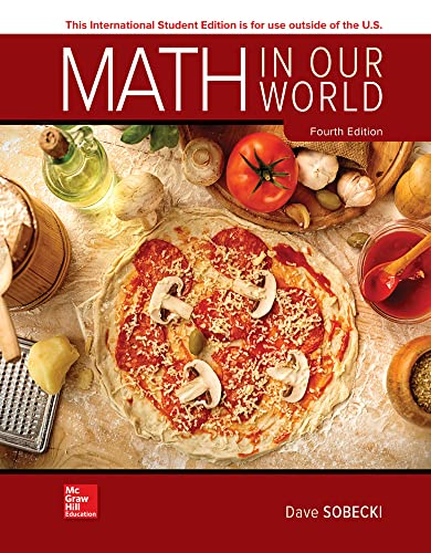 Math in Our World (Paperback): David Sobecki