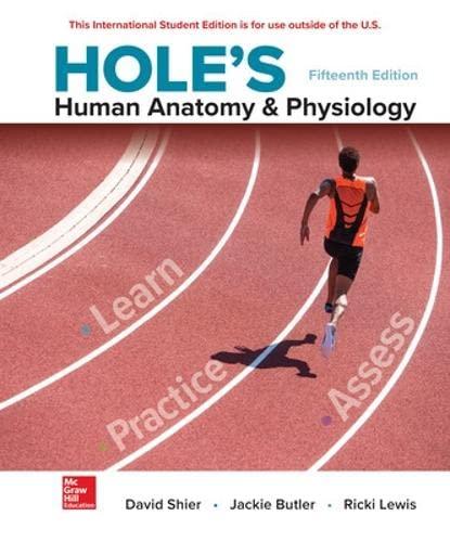 9781260092820: Hole's Human Anatomy & Physiology