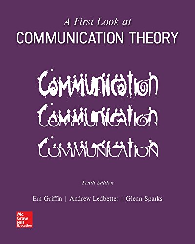 9781260132434: Looseleaf for A First Look at Communication Theory