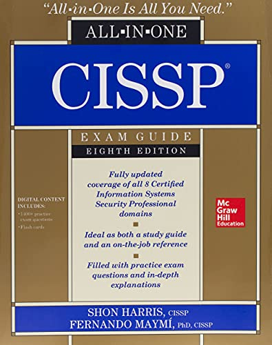 9781260142655: CISSP All-in-One Exam Guide, Eighth Edition