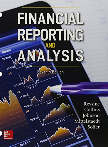 Gen Combo Looseleaf Financial Reporting Analysis; Connect: Lawrence Revsine, Daniel