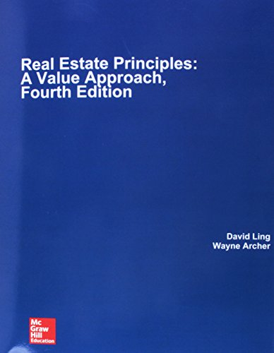 9781260151381: Real Estate Principles: A Value Approach