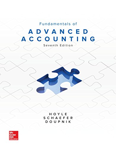 9781260151879: Loose Leaf for Fundamentals of Advanced Accounting