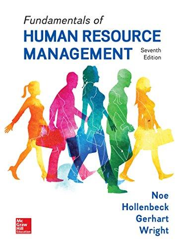 9781260152517: Loose Leaf for Fundamentals of Human Resource Management