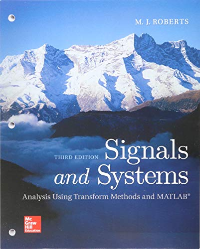 9781260152531: Loose Leaf for Signals and Systems