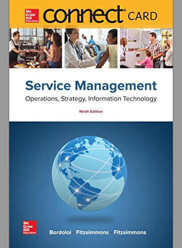 Connect Access Card for Service Management: Operations,: Fitzsimmons Seay Professor