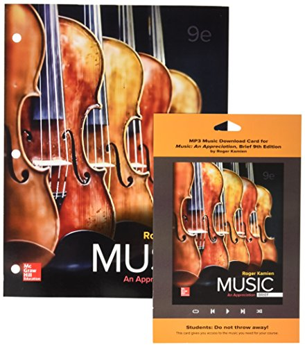 music an appreciation 9th edition