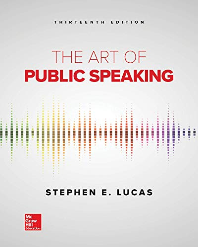 9781260412932: Loose Leaf for the Art of Public Speaking