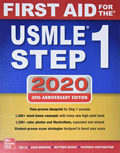 9781260462043: First Aid for the USMLE Step 1 2020