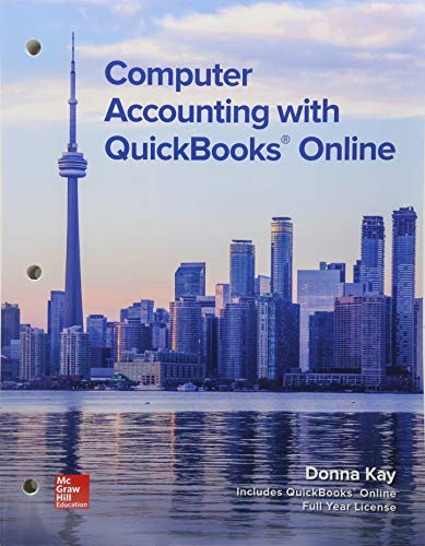 9781260517477: Gen Combo LL Computer Accounting W/QuickBooks Ol