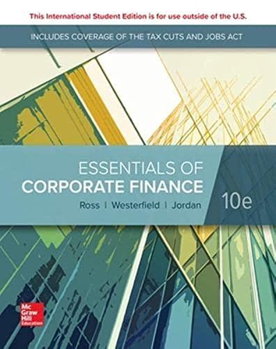 9781260565560: Essentials of corporate finance