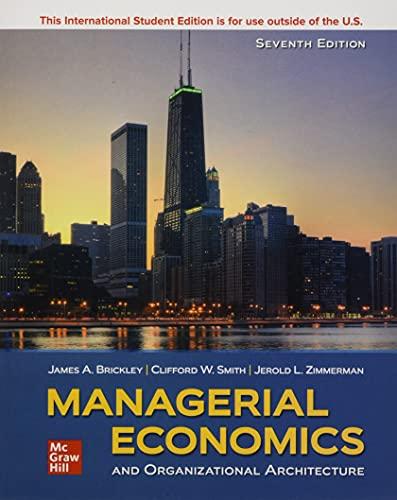9781260571219: ISE Managerial Economics & Organizational Architecture