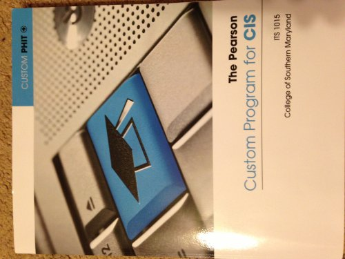 9781269052337: The Pearson Custom Program for CIS: ITS 1015 (9th Edition)