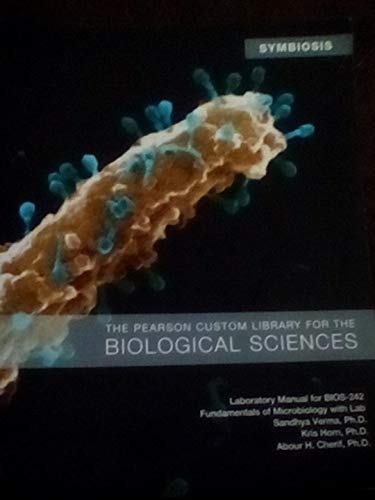 9781269058131: Laboratory Manual for Bios-242 Fundamentals of Microbiology with Lab