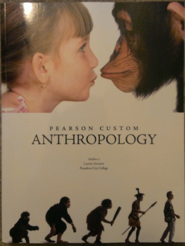 9781269063272: Pearson Custom Anthropology