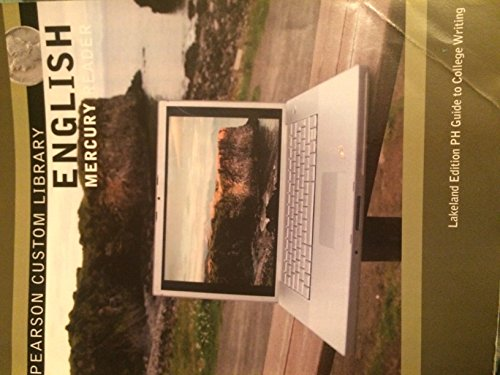 9781269069892: English Mercury Reader- Lakeland Edition