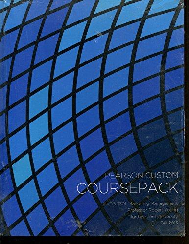 9781269072748: Coursepack MKTG 3301 Marketing Management Northeastern University