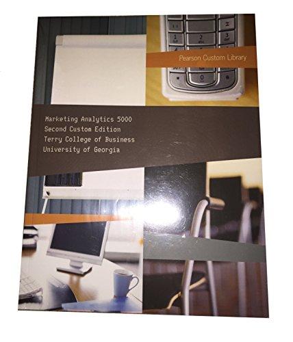 9781269083492: Marketing Analytics 5000