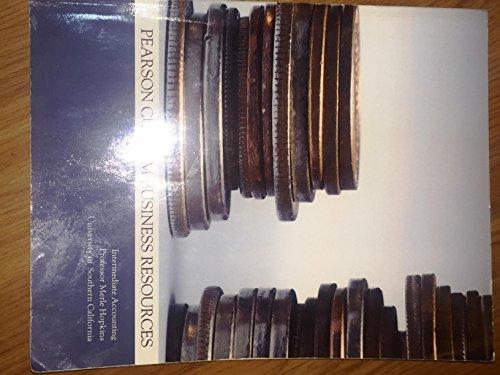 9781269084307: Intermediate Accounting Professor Merle Hopkins Usc