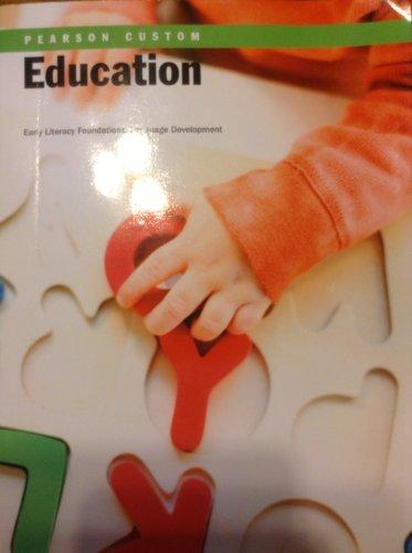 9781269085748: Education Early Literacy Foundations: Language Development