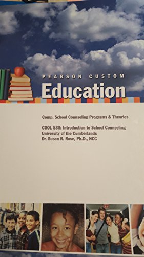 9781269088459: Comp. School Counseling Programs & Theories