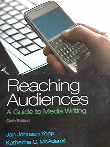 9781269101042: Researching Audiences: A Guide to Media Writing