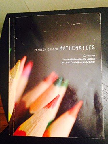 9781269111287: Pearson Custom Mathematics